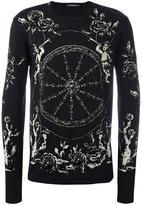 Dolce & Gabbana cart wheel print top