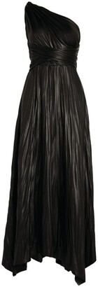 Maria Lucia Hohan Faux Leather Skyndall Gown