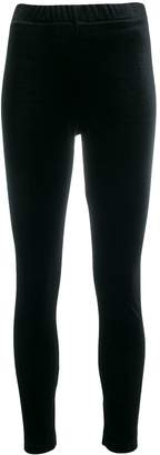 Zucca elasticated velour leggings