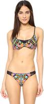 Nanette Lepore King's Road Diva Bikini Top