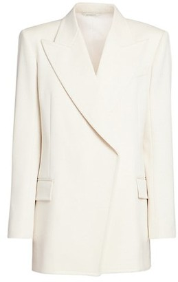 Givenchy Masculine Double Breasted Wool-Blend Jacket