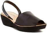 Kenneth Cole Reaction Fine Glass Platform Sandal