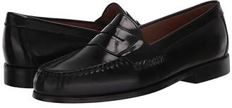 Johnston & Murphy Hayes Penny Loafer (Black) Men's Shoes