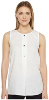 Ellen Tracy Button Tunic Women's Clothing