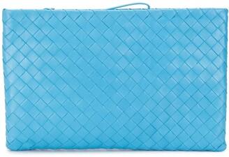 Bottega Veneta Intrecciato nappa leather clutch