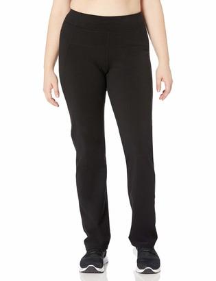 Calvin Klein Women's Plus SizeHigh Waist Narrow Straight Leg Pant Size Pull