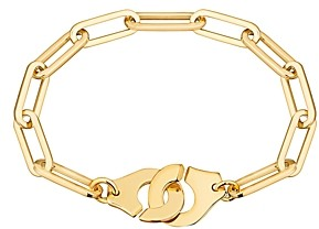 Dinh Van 18K Yellow Gold Menottes Chain Bracelet