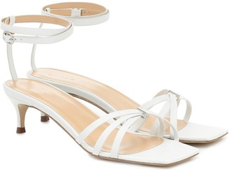 BY FAR Kaja leather sandals