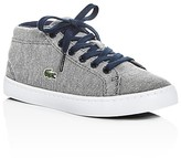 Lacoste Boys' Straightset Chukka Lace Up Sneakers - Toddler, Little Kid