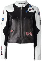 Versace Stardust Rock Star leather jacket