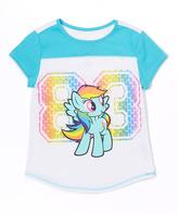 Freeze My Little Pony Rainbow Dash '83' Color Block Tee - Girls