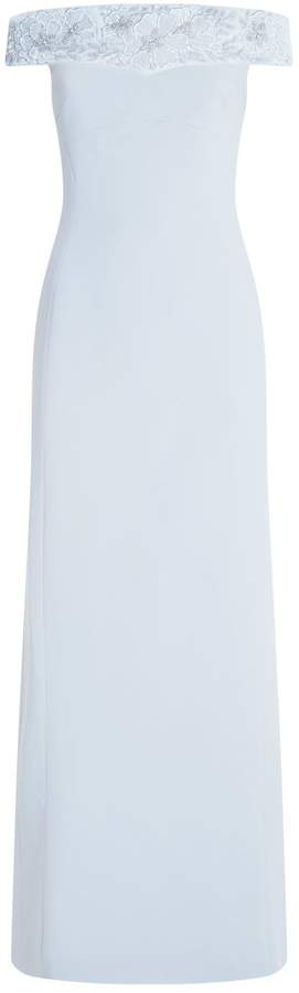Antonio Berardi Embellished Off-The-Shoulder Gown