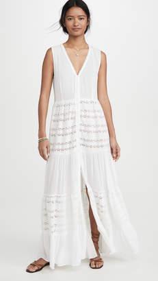 Playa Lucila Eyelet Maxi Dress