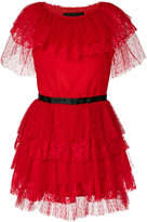 MSGM layered tulle mini dress