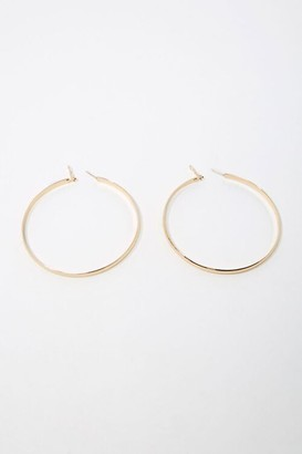 Forever 21 High-Polish Hoop Earrings