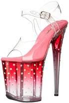 Pleaser USA Women's Stdus808t/C/PNK-C Platform Dress Sandal