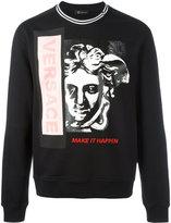 Versace Medusa sweatshirt - men - Cotton - M