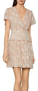 BCBGMAXAZRIA Daisy Chiffon Mini Dress