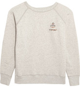Etoile Isabel Marant Billy Printed Cotton-blend Sweatshirt - Ecru