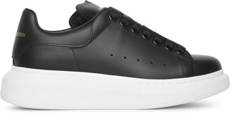 Alexander McQueen Black classic leather sneaker