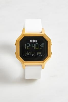 Nixon Siren White Watch - White ALL at Urban Outfitters
