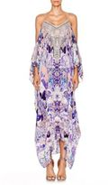 Camilla Chinese Whispers Still Life Silk Caftan