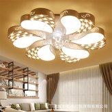 Lilamins Led Personalized Heart-Shaped Ceiling Light Iron Study Very Remote Control Lights No Lighting for Bathroom, Kitchen, Hallway, Office, Corridor,850Mm
