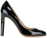 Francesco Russo varnished pumps - women - Leather/Patent Leather - 40