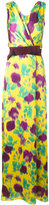 Max Mara floral print maxi dress - women - Silk/Polyamide/Acetate - 40
