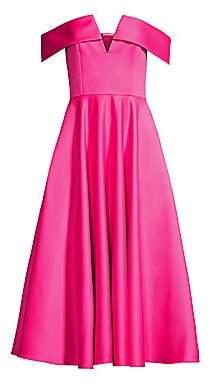 Jay Godfrey Women's Hays Off-The-Shoulder Pleated Dress
