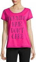 SLEEP CHIC Sleep Chic Pattern Pajama Top