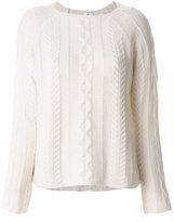 Allude cable knit jumper