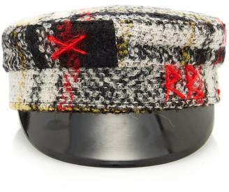 Ruslan Baginskiy Hats Checked Wool Baker Boy Cap