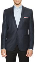 Ben Sherman Wool Striped Notched Sportcoat