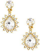 Carolee Clipped to Perfection Double-Drop Clip-On Earrings