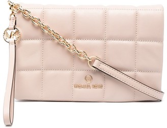MICHAEL Michael Kors Square-Quilted Leather Crossbody Bag