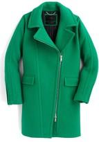 J.Crew Women's Devin Stadium Cloth Wool Blend Coat