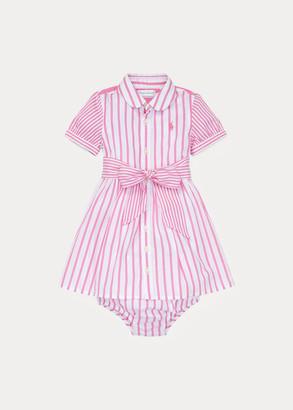 Ralph Lauren Striped Dress & Bloomer