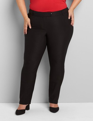 Lane Bryant Deluxe Fit Low-Rise Straight Allie Pant