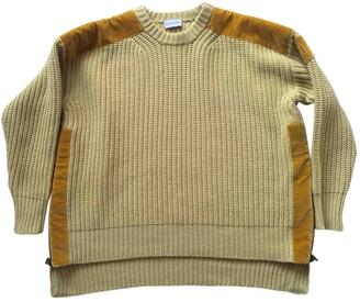 Valextra Moncler Genius Moncler n2 1952 + Yellow Wool Knitwear