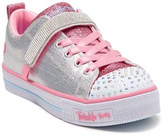 Skechers Twinkle Light Sparkletopia Light-Up Sneaker (Toddler, Little Kid, & Big Kid)
