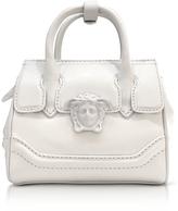 Versace Palazzo Empire White Leather Mini Handbag