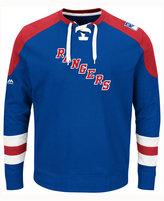 Majestic Men's New York Rangers Centre Long-Sleeve Jersey Shirt
