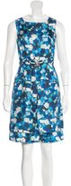 Peter Som Floral Print Sleeveless Dress