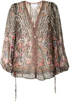 Thumbnail for your product : Camilla Lace-Up Side Blouse