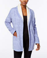Hue Illusion Cozy Open-Front Robe