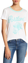 Junk Food Clothing Portland Rose Graphic Tee
