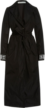 Off-White Shell Trench Coat
