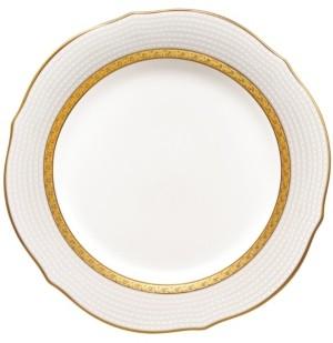 Noritake Charlotta Gold Scalloped Accent Plate