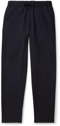 A.P.C. Herringbone Virgin Wool Drawstring Trousers